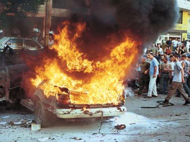 Image of a car bomb